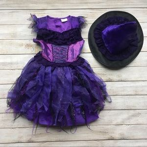 Other - Girls Purple Witch Costume